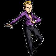 BIOHAZARD Clan Master - Character animation - Edward 2