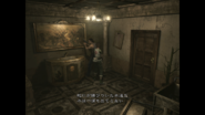 Resident Evil 0 HD - Cafeteria faucet examine Japanese