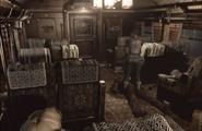 Resident Evil 0 Second Class passenger car B left