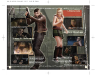 Resident Evil 4 Wii Edition Instruction Booklet 6