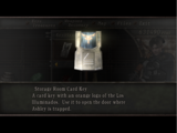 Storage Room Card Key