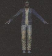 Degeneration Zombie body model 33