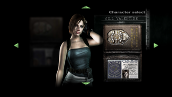 Jill Casual Character Select