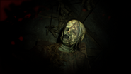 Resident Evil 7 D-002 Dahlia face close-up