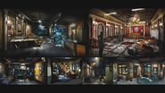 RE2 remake CONCEPT ART - Police Station C