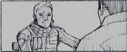 Resident Evil 6 storyboard - Fallen Hero 17