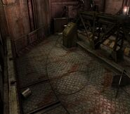 Arklay factory - Laboratory passage background 14