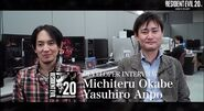 Resident Evil 20th Anniversary Interview Yasuhiro Ampo and Michiteru Okabe