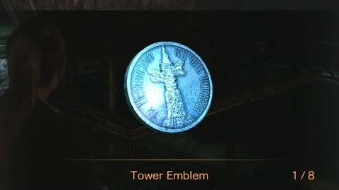 Resident Evil Revelations 2 Episode 1 - All Tower Emblem Locations