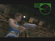 RE3 Jill finish off Nemesis