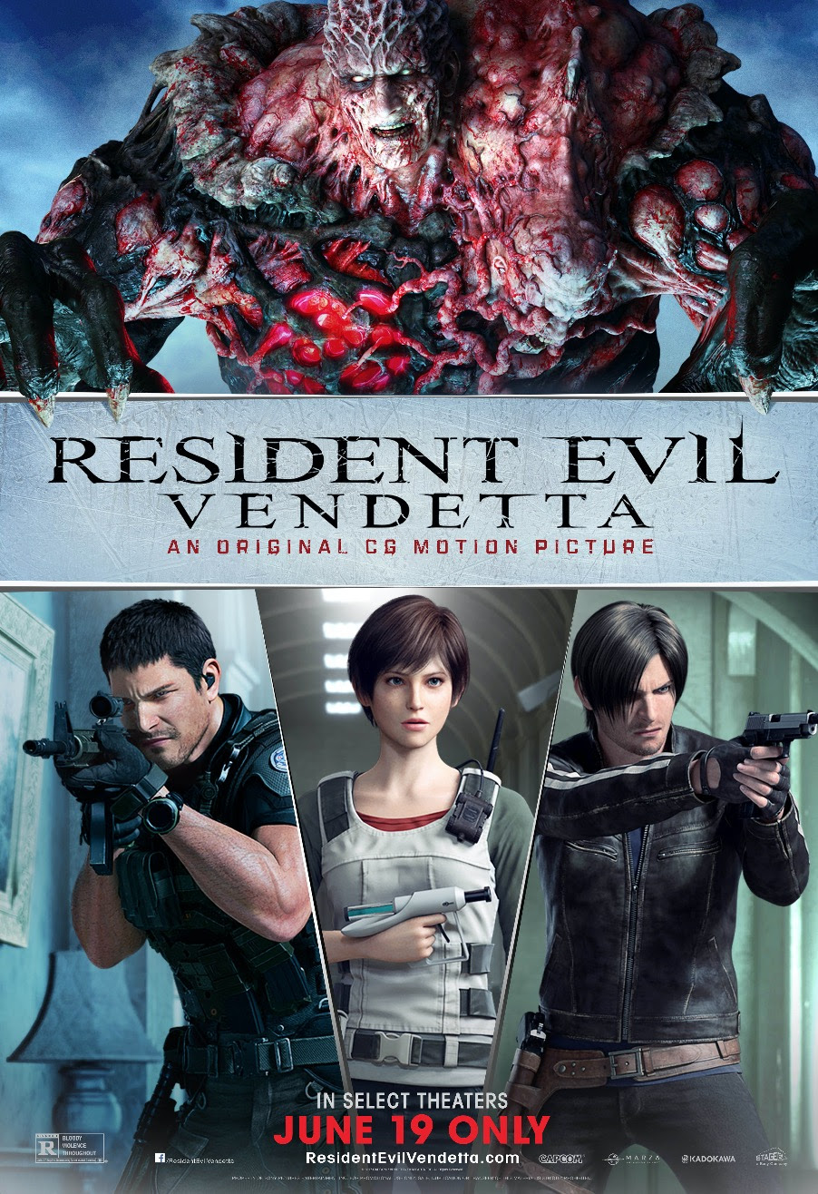 resident evil degeneration full movie english
