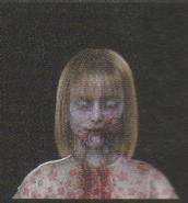 Degeneration Zombie face model 55