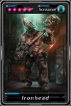 Deadman's Cross - Ironhead card