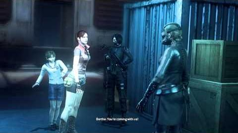 Resident Evil Operation Raccoon City all cutscenes - We've Got Orders (Bertha)