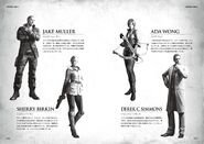 BIOHAZARD 6 STORY GUIDE - pages 006 - 007