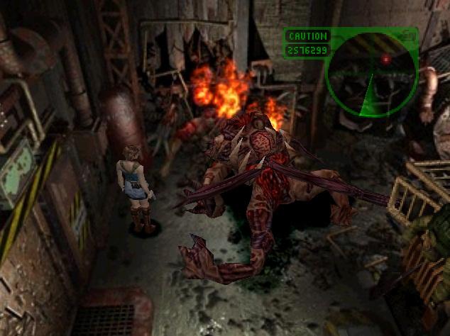 Image - Nemesis tries to regenerate.jpg | Resident Evil Wiki ...