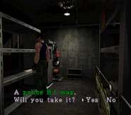 RE2 police B1 Map location