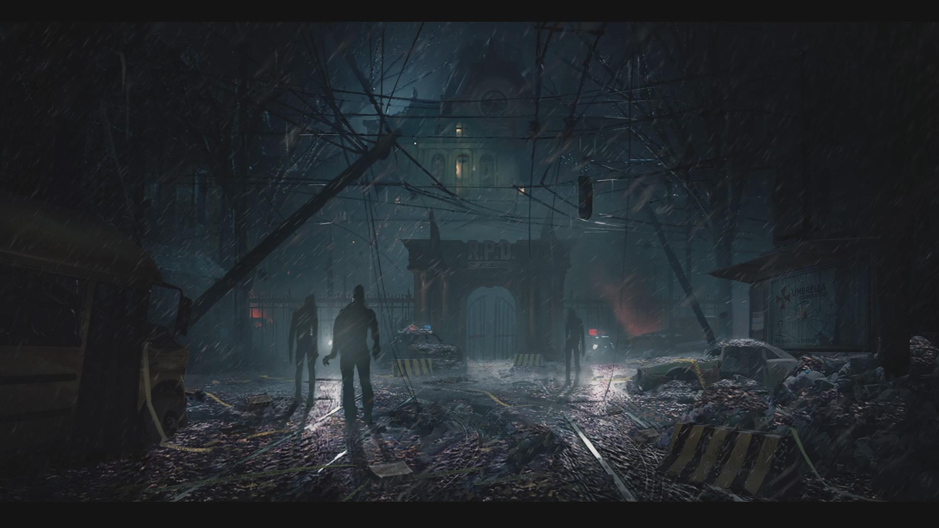 Concept Art Re2 Remake Resident Evil Wiki Fandom