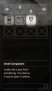 RESIDENT EVIL 7 biohazard Small Component inventory