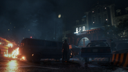 Raccoon Police Dept outside - Resident Evil 2 remake