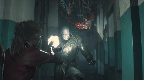 Resident Evil 2 Claire Gameplay - Unstoppable Tyrant