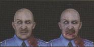 Degeneration Zombie face model 3