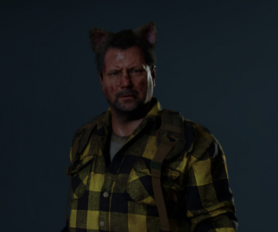 RE2 Remake Cat Ears Accessory