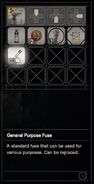 RESIDENT EVIL 7 biohazard General Purpose Fuse inventory