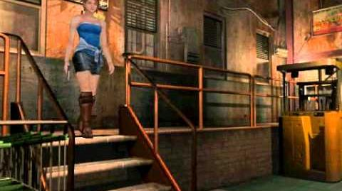 Resident Evil 3 Nemesis cutscenes - The Great Novelist