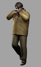 Resident evil outbreak george hamilton artwork concept art 3d model ingame alternate costume (2)