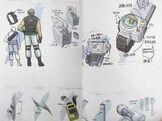 Umbrella Chronicles Artbook