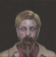 Degeneration Zombie face model 16