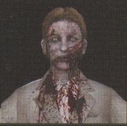 Degeneration Zombie face model 45