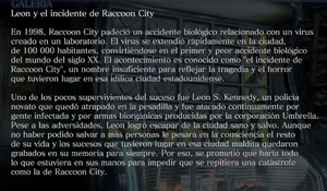 Leon y el incidente de Raccoon City