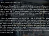 Leon y el incidente de Raccoon City