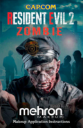 Mehon Makeup Resident Evil 2 poster 4