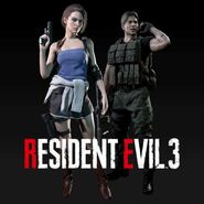 Resident Evil 3 Remake Classic Costume Pack