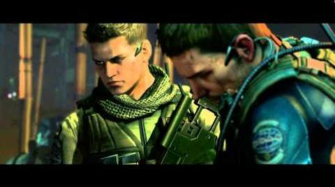 Resident Evil 6 all cutscenes - Chopper Attack (Chris' version)