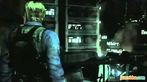 Gameplay of Resident Evil 6 E3 2012