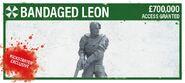 Leon Bandaged