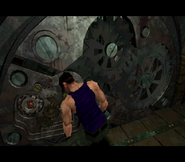 RE2 G. Cogwheel usage
