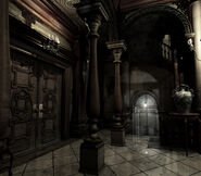 REmake background - Entrance hall - r106 00011