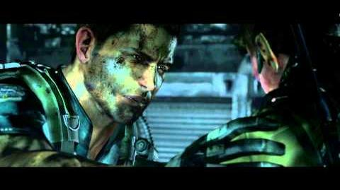 Resident Evil 6 all cutscenes - The Last Weapon