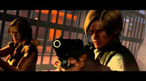 Resident Evil 6 all cutscenes - Final Battle