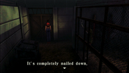 Resident Evil CODE Veronica - square in front of the guillotine - examines 01-1