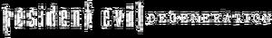 Resident Evil degeneration logo