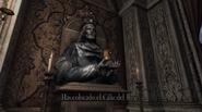 Cáliz del Rey en su lugar