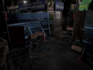 Resident Evil 3 background - Uptown - boulevard e2 - R11E04