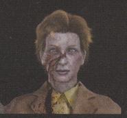 Degeneration Zombie face model 59