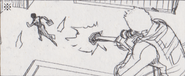 Leon vs. Chris storyboard 23